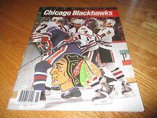 1991-92 CHICAGO BLACK HAWKS Yearbook ED BELFOUR CHRIS CHELIOS DONINIK HASEK