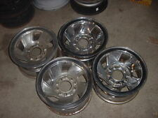 STEEL WHEEL RIM FORD F 150 F150 1991 91 15x7.5 CHROME LISTING IS FOR 1 WHEEL