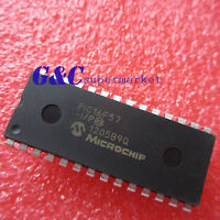 5PCS PIC16F57-I/P DIP28 8-Bit 20MHz Microcontroller NEW GOOD QUALITY