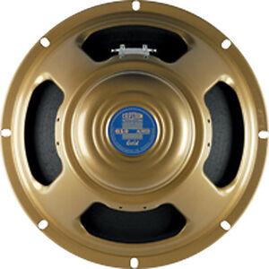 "Celestion G10 Gold Alnico 8 ohm 10"" 40W Guitar Speaker T5671"