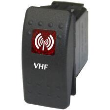 Rocker switch 744 red 12V VHF Daystar ARB water marine radio