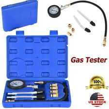 Cylinder Compression Tester Test Tool Kit Professional Mechanics Gas Engine AA