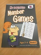 No Nonsense Number Games • Book 3 • Ages 7-9