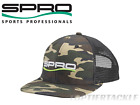 SPRO Trucker Fishing Hat Camo - White Logo