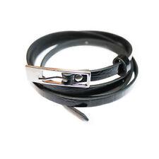 Damas Chicas Mujer Brillante Flaco PVC Cinturón Negro Diseño Con Níquel Hebilla
