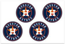(4) Houston Astros MLB Decals / Yeti Stickers *Free Shipping