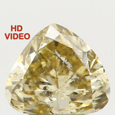 0.20 Ct Natural Loose Diamond Cut Heart Shape Yellow Color 3.80 MM I1 N5385