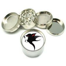 "Wolf Tattoo Native American Metal Grinder 4 PC 2"" D-495"