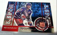 MARK MESSIER 1997-98 Donruss LINE 2 LINE Promo SP Card #23 of 24 Rangers RARE