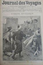 JOURNAL DES VOYAGES N° 967 de 1896 TURQUIE CONSTANTINOPLE GUERRE DE GRÈCE SIÈGE