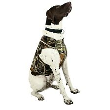 Team Realtree All Weather Neoprene Dog Chest Protector Vest, Camo, Size L Large