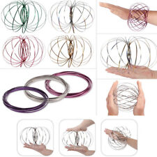 Magic Flow Rings Toys Funny Kinetic Spring Juggle Dance Gifts Fashion Chic