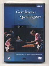 Dvd GARY BURTON MAKOTO OZONE Jazz 2003 Munich Summer Piano festival Vibraphone