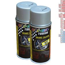 2x Dupli-Color Bremssattel-Lack silber Bremsenlack Acryl-Spray