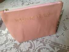 "Macy's Peachy Pink ""YOU MAKE ME BLUSH"" Cosmetics Make Up  Bag - New w/tag"