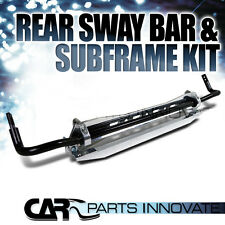 For 92-95 Civic del Sol 94-01 Integra Rear Sway Bar Kit+Subframe Brace+Tie Bar