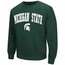 ($55) Michigan State Spartans STITCHED/SEWN Jersey Sweatshirt ADULT MENS s-small