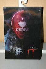 PENNYWISE THE CLOWN IT NECA ACTION FIGURE LENTICULAR COVER ART BRAND NEW