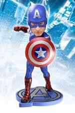 """Película Los Vengadores NECA la Bobble Head Knocker - 7"""" Capitán América Headknocker Nuevo"""