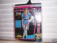 Monster High Scaris Frankie Stein Girls Costume Size S (4-6) Halloween  Dress Up