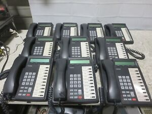 Lot of 10 Toshiba DKT-3010-SD Digital LCD Charcoal Business Phones for Strata