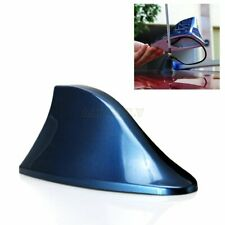 1Pc ABS Blue Shark Fin Antenna AM/FM Signal Roof Aerial Universal for Car SUV