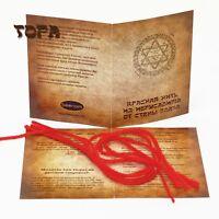 5 шт. Красная нить на запястье из Иерусалима от Стены плача Kabbalah Red String