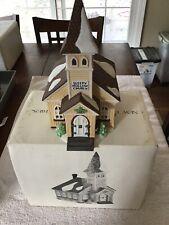 "Dept 56 Heritage Village New England Village Series ""Sleepy Hollow Church� 59552"