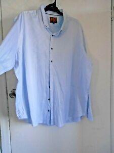 Blue Dress Business Shirt Taro Cash JOHNNY BIGG 6XL