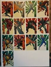 MARVEL SUSPENDED ANIMATION CELL SET 13 CARDS TOTAL 1994