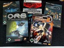 PC Spielesammlung STAR WOLFES 1 + 2 + O.R.B. + NEXUS + SIN OF A SOLAR EMPIRE