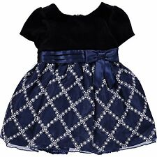 Baby Girl DRESS glitter skirt 12/18M w/ panties by Special Occasions USA BNWT
