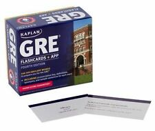 Kaplan Test Prep: GRE® Vocabulary by Kaplan (2014, Cards,Flash Cards, Revised)