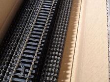 """HO ATLAS 168 CODE 100 SUPER FLEX TRACK 36""""(25) PCS BLACK TIES BIGDISCOUNTTRAINS"""