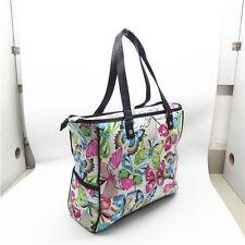 Thirty One gifts Large FLUTTER butterfly Cindy Tote women handbag Shoulder bag
