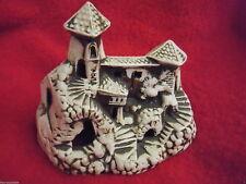 Aquariumdeko Ceramica Argilla Decorazione Acquario Tempio H 15 cm Pesci