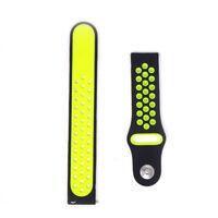 Cinturino Watch gomma 20mm bracciale fascia fibbia per Samsung Gear S3 Sport