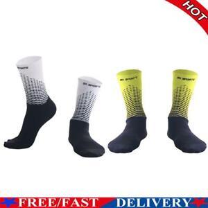 2pcs Anti Slip Bike Socks Bicycle Compression Street Sport Cycling Socks