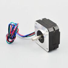 Nema 17 Stepper Motor 0.9deg 1.2A 11Ncm(15.6oz.in) Bipolar Stepper Hobby CNC OSM