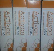 ACTIVON TUBE  x4 .Medical Grade Manuka Honey(25g) x4