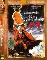 The Ten Commandments (1956) New Sealed DVD Charlton Heston