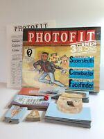 Vintage 'PHOTOFIT' Board Game: 3-in-1 RARE Used