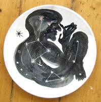 SAM3 Original Artwork Ceremic Plate signed print + Dolk, Blu or Cyclops sticker