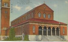 Cathedral of the Immaculate Conception St. Cloud Minnesota Postcard 1948