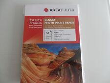 Agfa Photo 100 Blatt Foto-Glanzpapier A4   sheet / 210g Glossy Paper AP21050A4