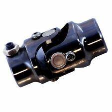 "Universal Steering U Joint 13/16"" -36 Spline X 3/4"" DD Black Steel GM Power Box"