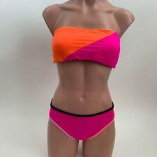 Victoria's Secret Bikini Set Strapless Padded Top & Classic Hipster Bottom - L