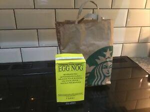 Seasonal Eggnog  Starbucks