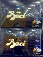 2 Packs Perugina Baci Italia Dark Chocolate Hazelnut 28 ct 14.1 oz Each Pack