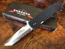 Emerson Knife MINI CQC-7BW-SFS Stonewash Serrated Edge - Prestige Dealer
